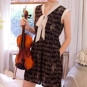 Miss Patina London ModCloth Melody Maker Dress S